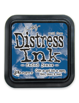 Distress - Faded Jeans