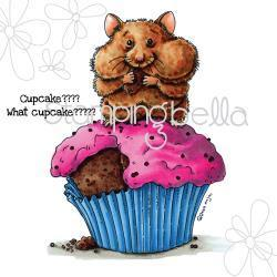 Sello Caucho Birthday Hamster
